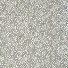 Papier peint Leaves, collection 1, édité par MissPrint / Référence : MISP1028. Une ambiance légère et fleurie dans des tons doux de gris et de blancs.