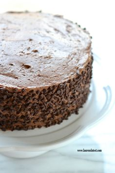 THE BEST and easiest Chocolate Chocolate Cake.....made this for the first time, and could eat the whole thing!