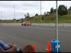Awesome video of Lori doing 360s stunt driving with #RedBalloonMums