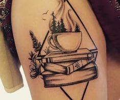 Immagine di tattoo and books Tattoos For Moms, Mom Tattoos, Tatoos, Lover Tattoos, Cute Tattoos, Small Tattoos, Sleeve Tattoos, Body Art Tattoos, Book Inspired Tattoos