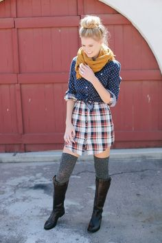 Fall layers   clothing found at @frances vintage