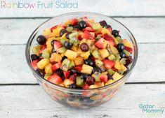 Rainbow Fruit Salad Recipe - Sugar, Spice and Family Life