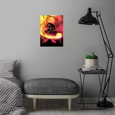 Inspired by Super Mario. Wonderful poster made out of metal. Metal Wall Plate for Bedroom and Living Room Get It Here Poster Making, Plates On Wall, Metal Walls, Super Mario, Poster Prints, Living Room, Inspired, Bedroom, Inspiration
