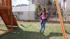 The Courniotes Family Of Westchester, New York Won The Dream Wooden Swing  Set In A Contest Hosted By WHUD And Best In Backyards.