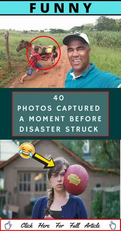 If we're lucky, at least once in our life, we'll take a picture that is so perfectly timed, that you can see the story that is sure to play out. In this case, those stories end in disaster. Weird Facts, Fun Facts, Best Projector, Couple Photoshoot Poses, Food Gallery, Elegant Wedding Hair, Workout Guide, Easy Food To Make, Feeling Sad