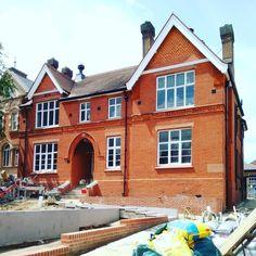 Louise House site #foresthill #arts #lewisham #architecture #victorian #brick #redevelopment #se23