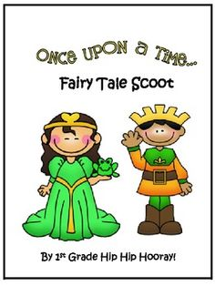 Have fun with your class playing fairy tale scoot during your fairy tale unit!