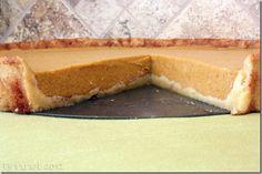 Low-Carb Snickerdoodle Pumpkin Pie (Paleo, Grain-free, Sugar-free, Vegan Option)