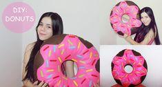 DIY Almofada de Donuts || Brunae Rayssa com