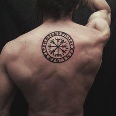 Image result for vegvisir tattoo