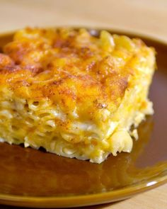 John Legend's Macaroni and Cheese (via Martha Stewart) -- butter, salt and pepper, elbow macaroni, evaporated milk, skim milk, eggs, seasoned salt, garlic powder, extra-sharp cheddar, Monterrey Jack, paprika #food #recipes