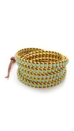 Chan Luu Beaded Wrap Bracelet | SHOPBOP Save 20% with Code SPRINGEVENT