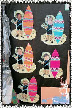 Soy Preescolar: #Ideas para #Decorados | ¡Vamos al mar estas vacaciones de verano! ツ | #Educacion #Preescolar; #Manualidades para la #Escuela