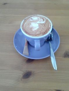 Cappuccino@ GränzKaffee in Frankfurt (Oder)