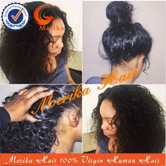 Source Short kinky curly full lace wig brazilian human hair afro wig on m.alibaba.com