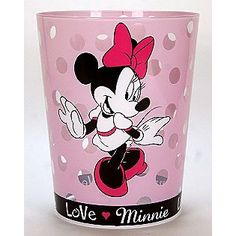 Disney -Minnie Mouse Trash Can