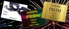 Free Prom Tickets With Every Order! Size A6, full colour printed and individually numbered. Choice of prepared designs or you can submit your own design.