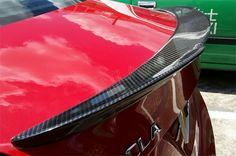 Mercedes CLA Carbon Fiber Rear Trunk Spoiler cla180 cla 200 cla220 cla250 cla260 cla45 amg trunk spoiler FD Design
