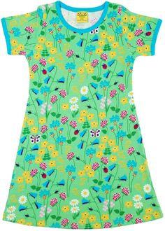 Scandinavian Kids, Kids Fashion, Fashion Outfits, Short Sleeve Dresses, Dresses With Sleeves, Floral Tops, Kids Outfits, Sleeved Dress, Baby