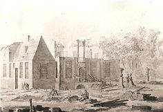 Ter Coulster tijdens de afbraak in 1788
