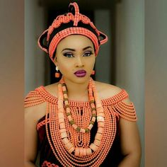 Royalty  @mercyaigbegentry #style #fashion #lifestyle #beauty #royal #queen #benin #empire #photooftheday #inspiration #instagood #picoftheday #beads #coral #styleravenigeria #styleraveng by styleraveng