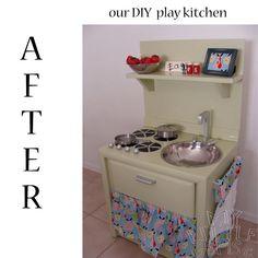 Doigts de fée :: Voir le sujet - cuisine pour enfant - DIY play kitchen