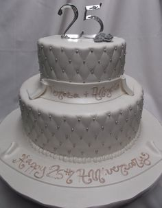25th wedding anniversary cakes | 25 Anniversary Cakes Designs - 9gag.ro