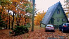 #A-frame houses #A-frame cabin #mid century A-frame