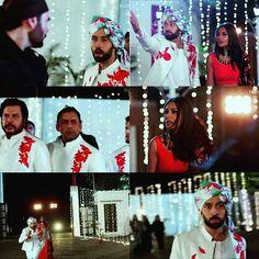 Scene 7.. (3)❤ Shivaay do ishara to commandos... He runs behind him... Annika stop him saying shivaay ruk jaaiye...nd he stops...❤❤❤ #nakuulmehta #officialsurbhic #leeneshmatoo #siraj_mustafa #official_mahesh_thakur #ishqbaaaz