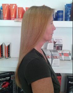 Sharon Services: Brazilian Blowout, hair color and haircut