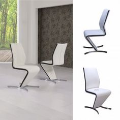 Isabella Z Chair White with Black Strip · Dining Room FurnitureDining ...  sc 1 st  Pinterest & Parini Extendable Dining Table Rectangular In Grey Gloss extendable ...