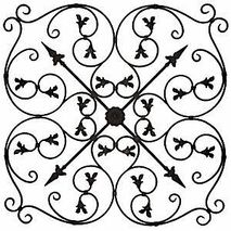 Love Wrought Iron Wall Decor
