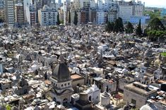 La Recoleta Cemetery is located in the stylish Recoleta neighbourhood of Buenos Aires, the capital and largest city of Argentina. The massive necropolis is the final resting place to Argentina's elite, famous and wealthy, ironically making it the most expensive and sought after real estate in Buenos Aires.