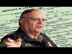 Sheriff Arpaio: Working On Getting Grand Jury Indictment For Obama Birth...
