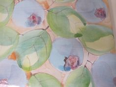 Laurie Curtis - Close up of Blueberry Design