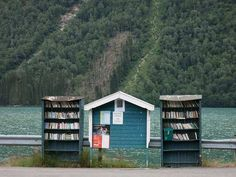 """""""Your library is your portrait."""" - Holbrook Jackson Free Library, Norway / BjørnN"""