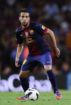 ~ Jordi Alba on FC Barcelona ~