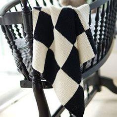 Garter Blocks Baby Blanket by Churchmouse Yarns & Teas