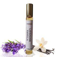 Organic Lavender Vanilla Perfume Oil Lavender by ScentualAroma