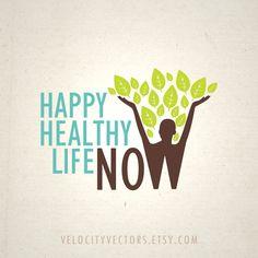 Happy Healthy Life Now Logo