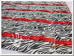 Decorando Lembranças  #Convite #aniversário #zebra #invitation