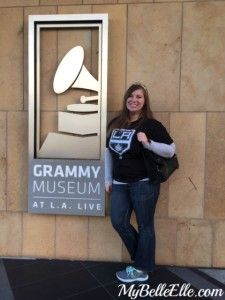 Visiting the Grammy Museum