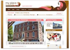 Custom Website Design and Development for Estate Agent My Place in Cornwall