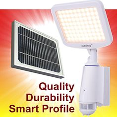 eLEDing EE880DDC  Pure Digital Solar Powered Smart Light >>> Read more reviews of the product by visiting the link on the image. This is Amazon affiliate link. #DIY