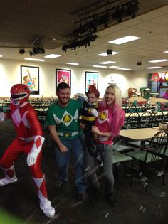 Great times with Red Ranger Man!