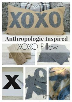 Xo pillows.