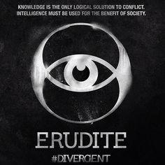 Erudite faction symbol from the 'Divergent' film