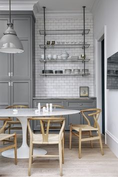 Kitchen #grey #subwaytiles