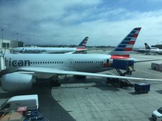 American Airlines 787-800 LAX Airport (my ride back to Chicago)