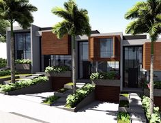 GurPreet Jhansal's media statistics and analytics Row House Design, Duplex House Design, Villa Design, Facade Design, Modern Brick House, Modern House Floor Plans, Home Design Floor Plans, Hotel Floor Plan, Modern Townhouse